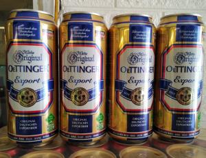 bia oettinger vàng nhập khẩu Đức