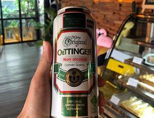 hương vị bia oettinger chay