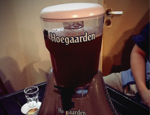 lịch sử bia hoegaarden rosee
