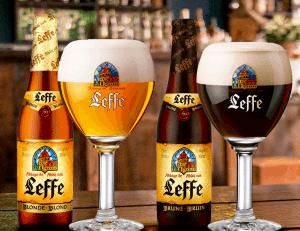 so sánh bia leffe nâu và bia leffe vàng