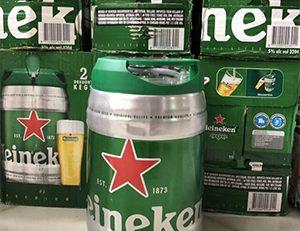 Bia Heineken bom 5 lít