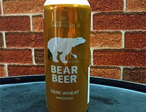 Bear beer dark wheat