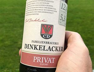 Dinkelacker Privat Export