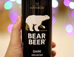 Bia Gấu Bear Beer Dark Imported