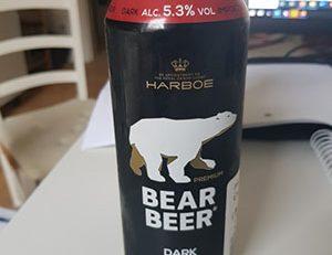 Bear Beer Dark Imported